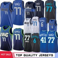 NCAA 77 Doncic College Basketball Jerseys Kristaps 6 Porzing...