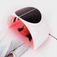 PDT LED 페이셜 마스크 등 기계 7 색 얼굴 화이트닝 피부 젊 어 짐 램프 치료 장치 뷰티 살롱 스킨 케어 트리트먼트 기계