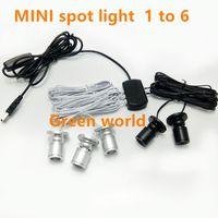 Mini LED Scheinwerfer Kits Kabinett Puck Strahler Downlight für Küche Display Zähler Schmuck Schrank Closet Schaufenster HP 1w / pcs 6pcs / set