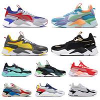 저렴한 RS-X 재창조 남성 캐주얼 신발 쿨 블랙 화이트 패션 덩굴 아빠 높은 품질 남성 여성 트레이너 스포츠 스니커즈 36-45 실행