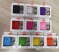 10 шт. / Лот для Apple AirPods защитный противоударный силиконовый чехол с пылезащитной розеткой для iPhone 7 Bluetooth наушники