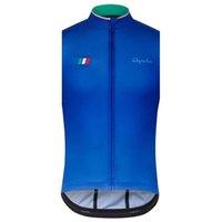 Rapha Takımı Bisiklet Kolsuz Jersey Yelek Yüksek Kalite Hızlı Kuru Yaz Nefes MTB Yarış Bisiklet Giysileri U70348