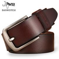 [DWTS] hommes Ceinture en cuir Ceinture Hommes Homme Bracelet de luxe Ardillon Fancy Vintage Jeans Cintos Masculinos Livraison gratuite