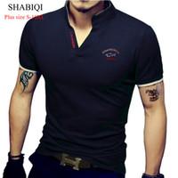 Shabiqi Hombre Ocio Cómodo Ocio Ropa casual Fábrica Tienda de hombres Camiseta grande Tamaño S-10xl Custom Support6xl7xl8xl9xl10 Y19060601