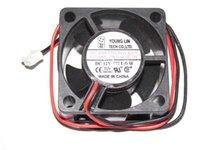 ventilador axial DFS402012H 12V 1.6W 2Wire dc joven Lin 40x20mm
