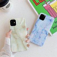 럭셔리 대리석 디자인 iPhone 11 다시 커버를위한 사용자 정의 휴대 전화 케이스