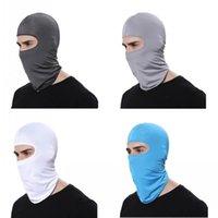 Maschere Maschera degli Stati Uniti Stock Ciclismo Motorcyle di protezione del lato esterno Visiera Head Cover Estate Adulto antipolvere Hijab musulmano