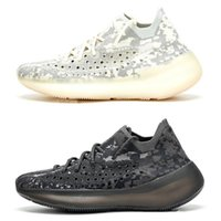 Kanye West New V3 Alien Ange Noir Son Jaune Jaune Wave Runner Chaussures de course Sport Sneakers guerriers en terre cuite Chaussures de design de luxe