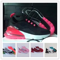 2018 New Infant 270 Kids running shoes pink White Dusty Cact...