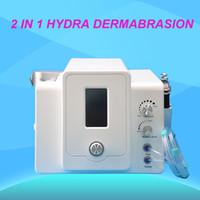 Sıcak satış hidra yüz hidro dermabrsion mikro akım mikro dermabrazyon yüz germe yüz cilt bakımı, cilt sıkılaştırma spa salonu kullanımı