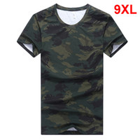 Oversized Camouflage T- shirt Men Big Size Tops Tees Male 201...