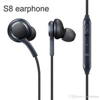 삼성 갤럭시 S9 S8 + 플러스 스테레오 사운드 이어폰 이어폰을위한 3.5mm S8 이어폰 유선 이어폰 헤드셋 MQ100