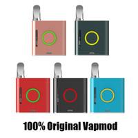 원래 VAPMOD vmod 전자 담배 배터리 vape mod 900mah 기화기 펜 VV 510 나사 두꺼운 오일 왁스 카트리지