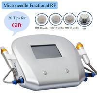arrugas eliminación fraccional Mejor equipo facial de la belleza de radiofrecuencia RF aguja micro micro aguja de 2 años de garantía