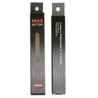Alt USB Şarj Max C8 Ön Isıtma Batarya 650 mAh Ayarlanabilir Gerilim Ön Isıtma Pil Kalın Yağ Buharlaştırıcı Kalem Vape 510 Konu Vape Mod