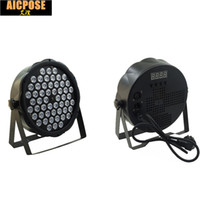 светодиодные лампы Par 54x3W DJ Par LED 54 * 3W лампы R12, G18, B18, W6 Wash Disco Light DMX Контроллер-эффект для Маленькой Пэтти КТВ