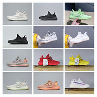 Pas cher Vente Top V2 True Forme Hyperspace Clay Static Refective Zebra GID Running Chaussures Hommes Chaussures Femmes Baskets Kanye Designer Sneakers