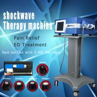 fisioterapia físico portátil Bomba de aire de la máquina de ondas de choque terapia para la disfunción eréctil / Shockwave neumática para el alivio del dolor corporal