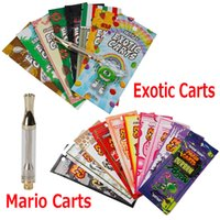 Exotic Carts Mario Carts Ceramic Coil Cartridge Vape Tank 1....