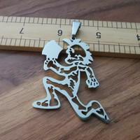 ICP Insane Clown Posse twiztid Hatchetman charme squelette JUGGALO ICP 30 pouces Collier figaro expédition libre