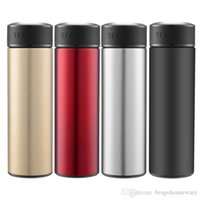 17oz 304 Stainless Steel Sports Water Bottle Unisex Vacuum Insulated Thermos Cup Insulated Double Wall Vacuum Water Bottles Mug BC BH1379