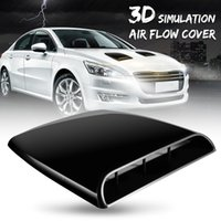 Auto Car 3D Simulation Air Flow Decorative Intake Hood Scoop...