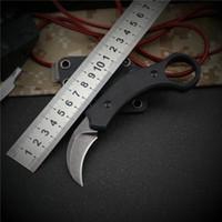 Karambit automatique oiseau Griffe Couteau D2 lame en aluminium Poignée double action en plein air froid en acier camping EDC Survie Couteau G10
