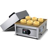 Düğme kumandası Souffler gözleme Yapma Makinası Japon Kabarık Sufle Krep Makinası Tek Tabaklar sufle Pan Kek Baker