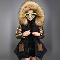 New Fashion Baby Girl' s Winter Cotton Coat Thickening F...