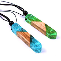 Красочное Impact формовочной смола Дерево с ожерельем, ювелирные изделиями подарка дня рождения компании Оптовой WomenMens'