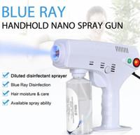 Heißer Verkauf 2020 neue heiße Hand elektrische Haar-Nano-Spray Gun Blue Ray Desinfektions-Sterilisator 1200W Große Energie