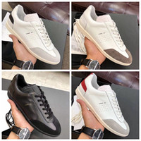 Hommes Sneaker B01 couro sapatilha Sapato Plataforma Moda Casual sapatos masculinos Chaussette Com Box, poeira sacos