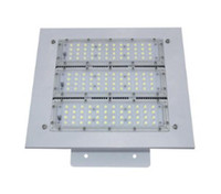 Açık LED Projektörler Canopy Işık 50W 100W 150W 200W Yüksek Bay Işık Gömme GAZ İstasyonu Işık AC 85-277V 5 yıl garanti LF için Monteli
