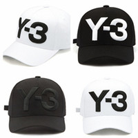 Embroidered Hip Hop Baseball Cap Fashion Y- 3 Print Dad Hat A...
