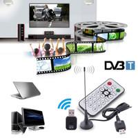 Mini USB 2.0 Digital DVB-T SDR + DAB + FM HDTV TV Stick Tuner Antena Dongle Stick Transmisión de video Receptor de grabación
