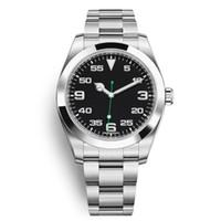 Reloj informal para hombres Mujeres 36 mm moda estilo clásico correa de acero inoxidable relojes automáticos 2813 Movimiento Relojes de pulsera Cupón OROLOGO DA UOMO DI LUSSO
