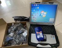 Digital de caminhão de link USB Scanner 125032 software de ferramenta pesado com laptop CF30 Touch Cabos Completos 4G