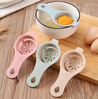 Cucina cotto tuorlo d'uovo filtro grano bianco paglia uovo del separatore del bianco d'uovo tuorlo separatore wy183