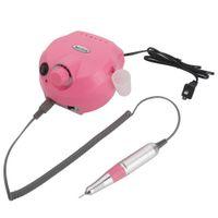 Prego broca 30000RPM Nails Care elétrica polidor Nail Art broca Rosa Padrão US