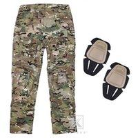 Krydex G3 táctico de combate de caza Pantalones Trajes con rodilleras para ropa Disparos 2020 Lanzamiento