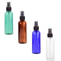 100 ml de viaje Transparente Spray Bottle Redondo Contenedor de viaje recargable Botella de spray de niebla fina para el embalaje de los cosméticos