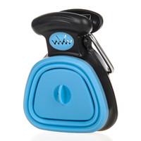 Köpek Pet Seyahat Katlanabilir Pooper Scooper 1 Rulo Ayrıştırılabilen torbaları ile Poop Scoop temizlemek Dışkının Temizleyici Ücretsiz Kargo Seçim