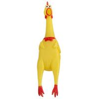 صراخ الدجاج الضغط لعبة الصوت الحيوانات الأليفة الكلب لعب المنتج الصراخ تخفيف الضغط أداة تنفيس صرير VT0105 الدجاج