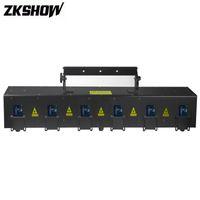 80% скидка 6 Глава RGB Анимация Лазерный проектор Массив 1W / 2W / 3W Лусес DJ Disco Party свет Pro Audio Stage Lighting Effect System Sound