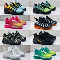 Nike Air TN Plus New Kids Plus Tn Enfants Parent Enfant Souliers simples de bébé Girl Fashion Sneakers Blanc Chaussures de course Entraîneur extérieur