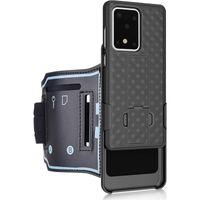 Spor Kol bandı Combo Ağır Hizmet Dayanıklı Çanta İçin MOTO G Stylus LG Stylo 5 6 Samsung S20 Ultra Not 10 iPhone 11 Pro Max 8 7 Artı SE 2020