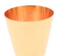 اونصة المعدن الكؤوس الفولاذ المقاوم للصدأ طلاء الذهب رئيس مزدوجة قياس الأقداح 15 / 30ML زجاجات الوالج وازم الخمور ملون بار 4 C2 5mc