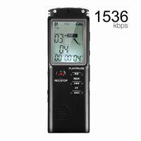 4G / 8GB / 16GB 32GB de voz / Grabadora profesional USB 12 Horas dictáfono digital de audio grabadora de voz Con WAV MP3 Player