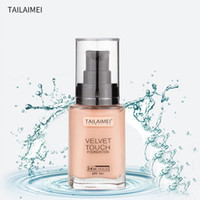 TLM Makeup Face Liquid Touch Foundation hasta 24H Hold Velvet Touch Foundation 3 colores