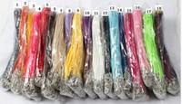 ديي الحبل الشمع 2.0MM الجملة الشمع الكورية سلسلة حبل قلادة الحبل
